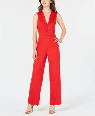 XOXO Juniors' Sleeveless Hardware Jumpsuit