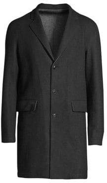 John Varvatos Wool & Cashmere Knit Jacket