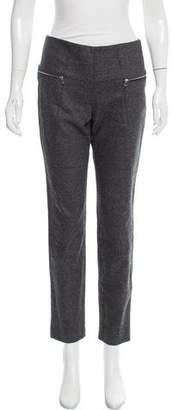 Les Chiffoniers Mid-Rise Wool Pants