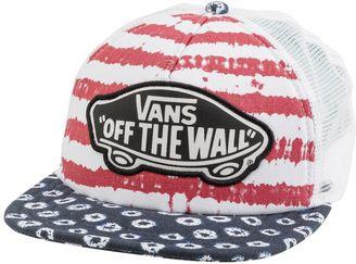 Vans Dots & Stripes Beach Girl Hat $19.95 thestylecure.com