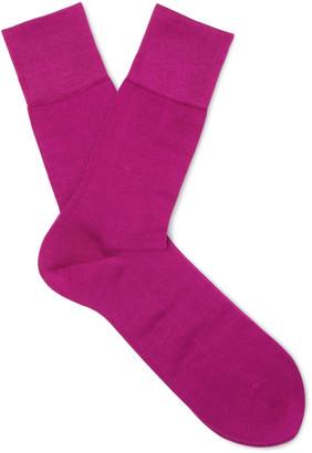 Falke Tiago Stretch-Cotton Socks $28 thestylecure.com