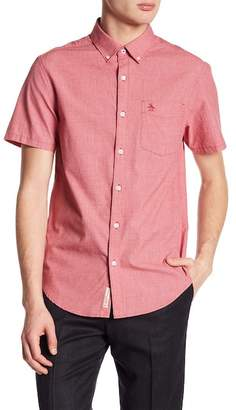Original Penguin Jaspe Woven Slim Fit Shirt