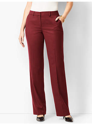 Talbots Windsor Luxe Italian Flannel Pants - Curvy Fit