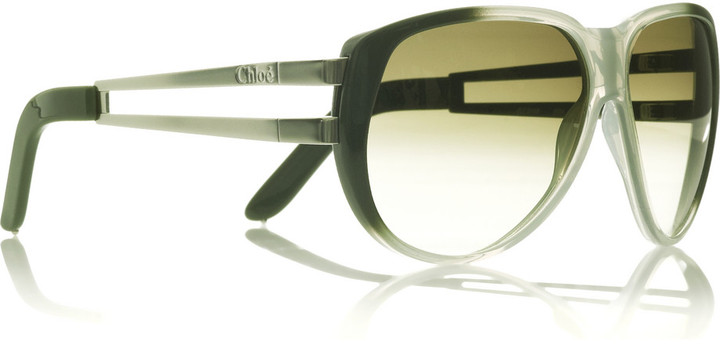 Chloé Maypop aviator sunglasses