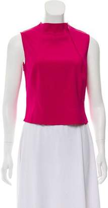 Giorgio Armani Silk Sleeveless Top