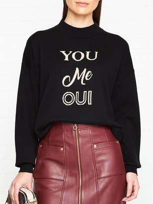 Whistles You Me Oui Jumper