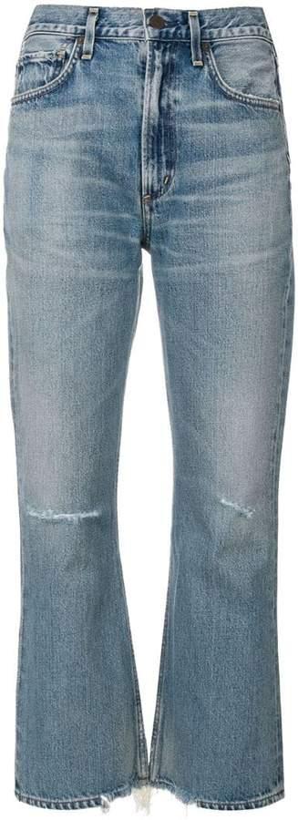 Estella ripped kick jeans