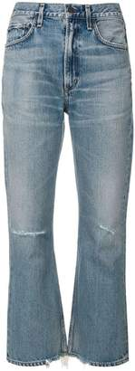 Citizens of Humanity Estella ripped kick jeans