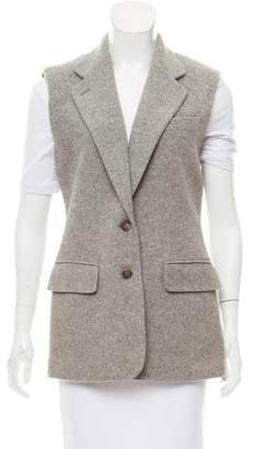 Lauren Ralph Lauren Notch-Lapel Wool Vest