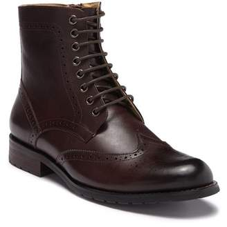 English Laundry Tron Leather Wingtip Boot (Men)