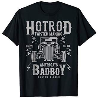 Retro Hot Rod Rock & Roll Bad boy t shirt