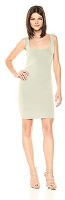 Velvet Rope Women's Sleeveless Scoop Neck Knee Length Dress