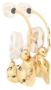Ellery Chess Warped Collage earrings