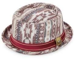 Robert Graham Arizona Printed Cotton Pork Pie Hat