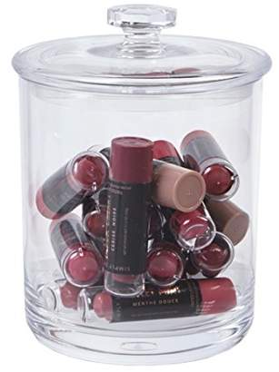 clear STORi 30-ounce Premium Quality Plastic Apothecary Jar