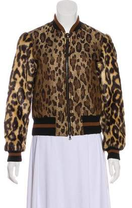 Dries Van Noten 2016 Jacquard Bomber Jacket