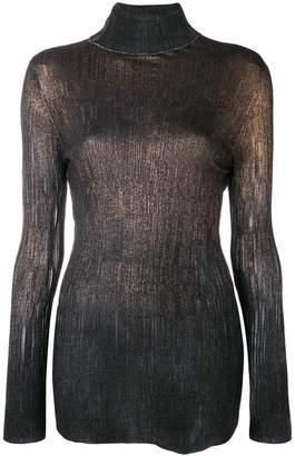 Avant Toi gradient knit sweater