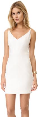 Black Halo Judy Mini Dress $325 thestylecure.com