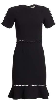 Jonathan Simkhai Short Sleeve Button Dress