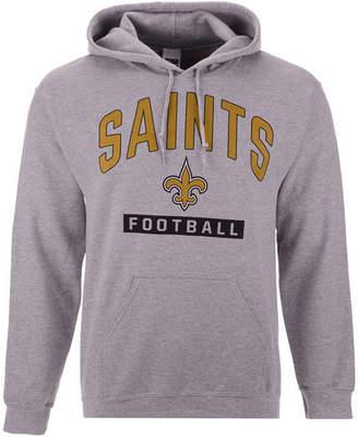Authentic Nfl Apparel Men New Orleans Saints Gym Class Hoodie