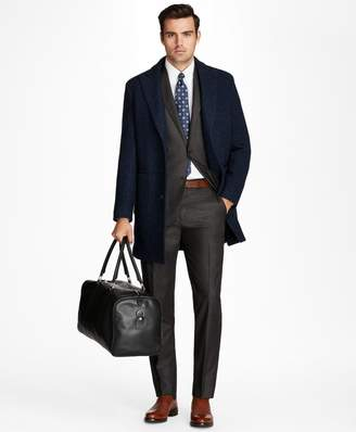 Brooks Brothers Wool Knit Topcoat