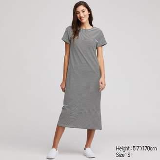 Uniqlo WOMEN Short Sleeve Relax Dress With Padding