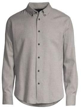 Rag & Bone Tomlin Linen-Blend Button-Down Shirt