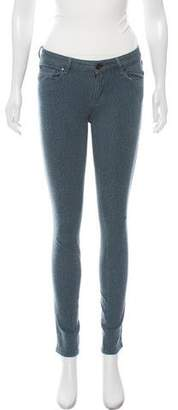 Marc by Marc Jacobs Animal Print Skinny Jeans