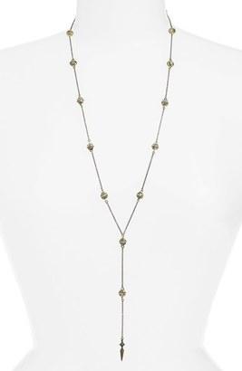 Women's Ettika Pyramid Bead Rosary Necklace $60 thestylecure.com
