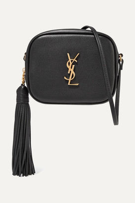 Saint Laurent Monogramme Blogger Leather Shoulder Bag - Black