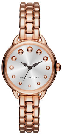 Marc Jacobs Marc Jacobs Betty Rose Goldtone Stainless Steel Bracelet Watch, SLMLG28RGBRCWHDI