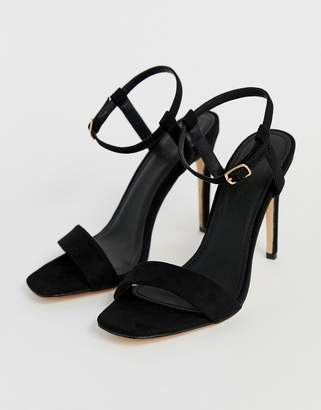 3240dbf88e5 Barely There Truffle Collection stiletto heeled sandals