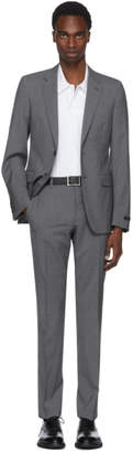 Prada Grey Lightweight Wool Suit