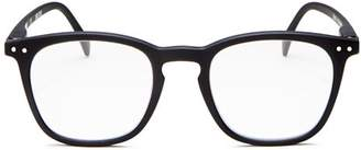 IZIPIZI Collection E Square Blue Light Glasses, 47mm