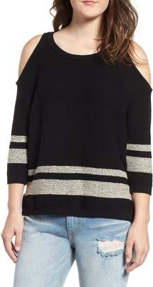 RVCA Marked Cold Shoulder Sweater