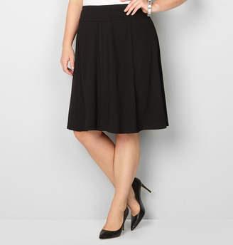 Avenue Piped Ponte Skirt
