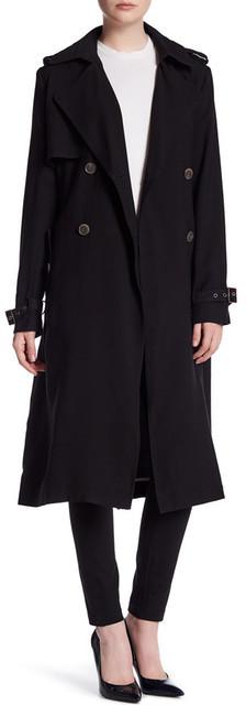 Vera WangVera Wang Chelsea Belted Trench Coat