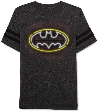 Dc Comics Batman Glow-In-The-Dark Graphic-Print T-Shirt, Little Boys