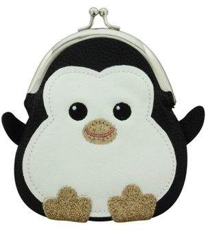 Original Penguin PopArtUK Chubby Kisslock Coin Purse