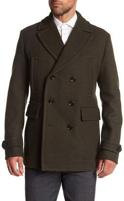 BOSS Camiel Double Breasted Peacoat