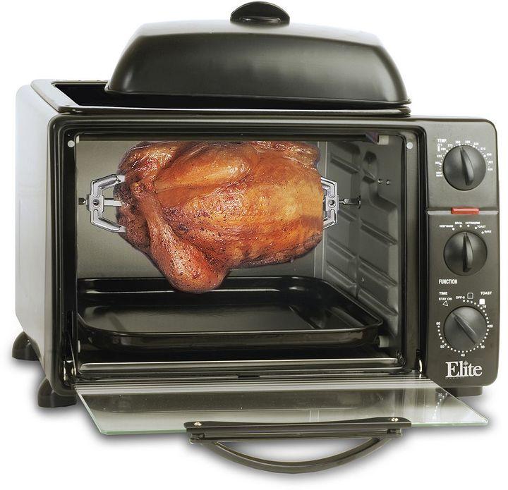 Elite Cuisine Toaster Oven & Griddle