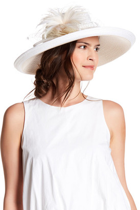 August Hat Freesia Large Romantic Profile $86 thestylecure.com