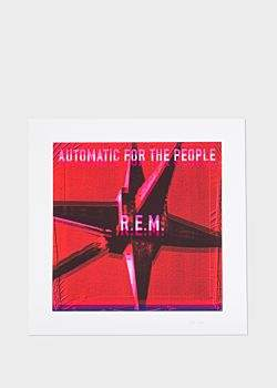 Paul Smith R.E.M. + AFTP Album Cover Pink Limited Edition Art Print