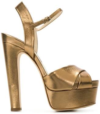 Brian Atwood platform-sole sandals