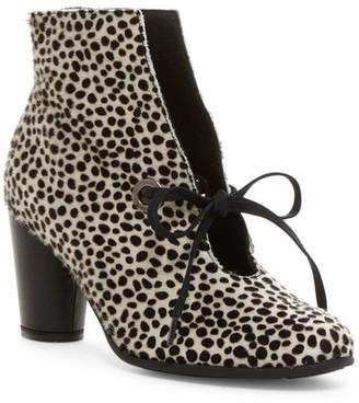 Arche Klein Genuine Calf Hair Lace Boot $445 thestylecure.com