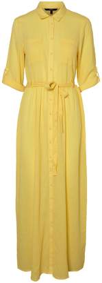 Vero Moda Cikka Belted Cotton Shirtdress