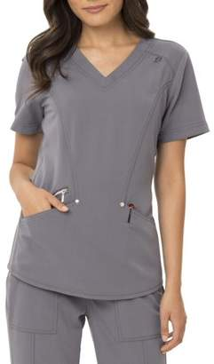 Scrubstar Signature Fashion Collection Women's Modern Fit Stretch Scrub Top