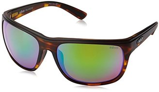 Revo Remus RE 1023 02 GN Polarized Rectangular Sunglasses, Matte Tortoise/Green Water, 62 mm $199 thestylecure.com