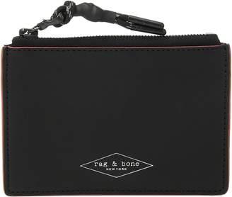 Rag & Bone Zipper Card Case Credit card Wallet