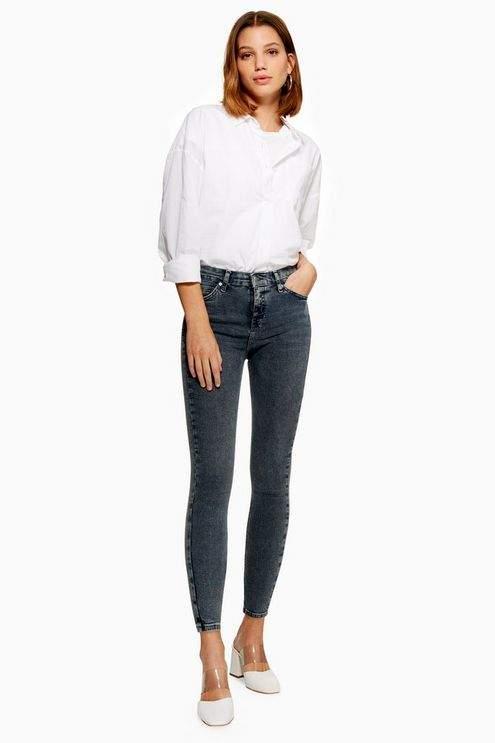 Petite Grey Jamie Jeans